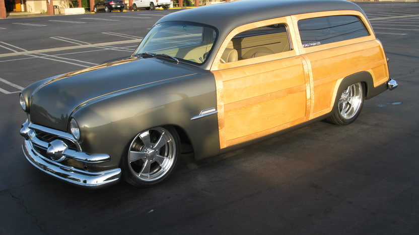1951 Ford Woody Wagon 2005 GoodGuys and MSRA Custom of the Year presented as lot S184 at Anaheim, CA 2012 - image9