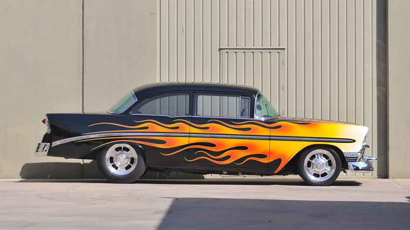 1956 Chevrolet 210 Hot Rod Cover Car and Centerfold Feature presented as lot S191 at Anaheim, CA 2012 - image10