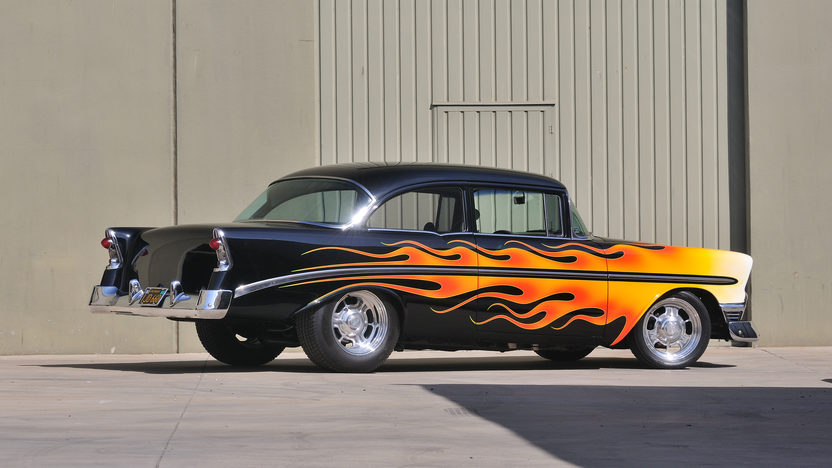 1956 Chevrolet 210 Hot Rod Cover Car and Centerfold Feature presented as lot S191 at Anaheim, CA 2012 - image2