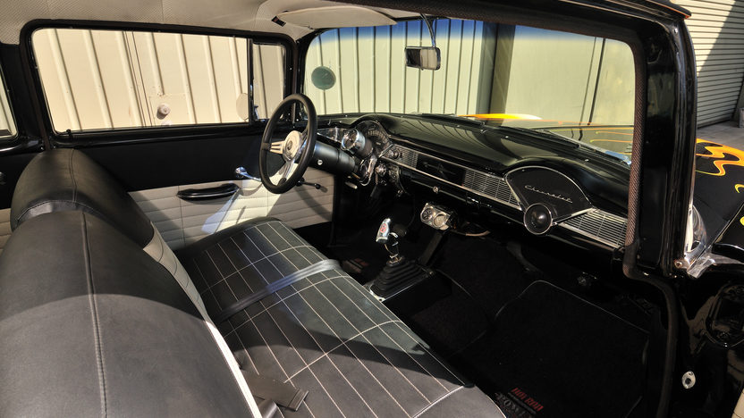 1956 Chevrolet 210 Hot Rod Cover Car and Centerfold Feature presented as lot S191 at Anaheim, CA 2012 - image3