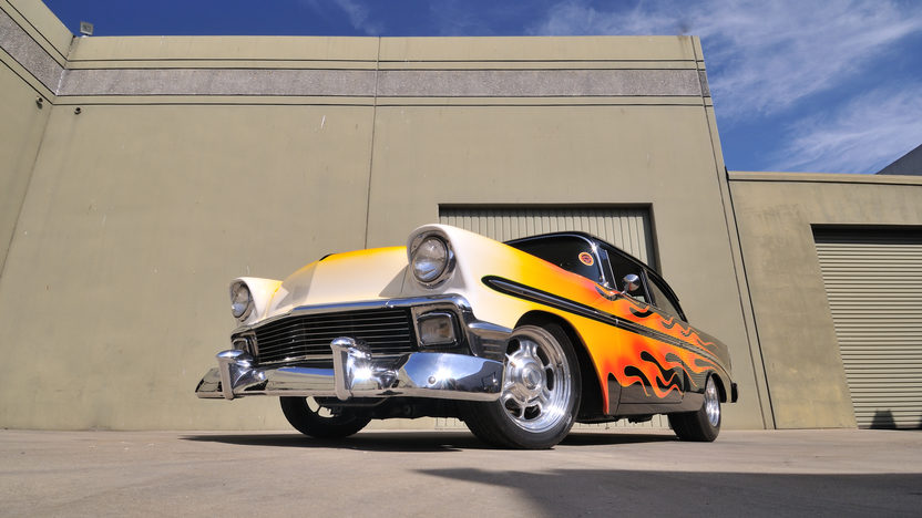 1956 Chevrolet 210 Hot Rod Cover Car and Centerfold Feature presented as lot S191 at Anaheim, CA 2012 - image9