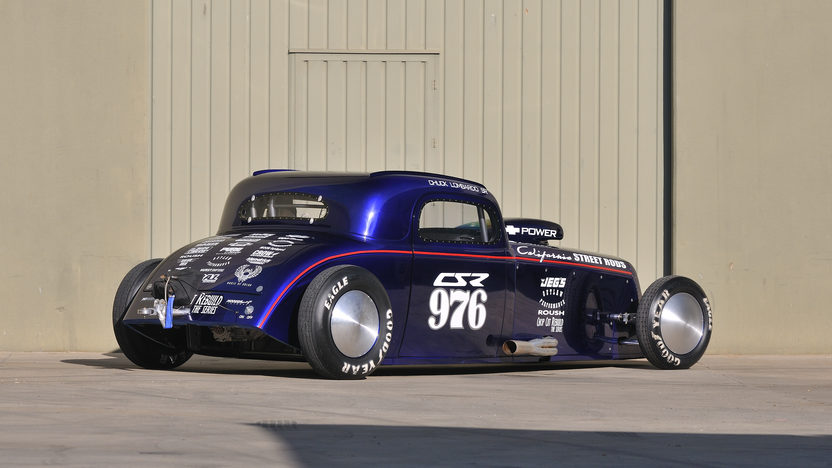 1934 Chevrolet  Race Car 383/825 HP, Bonneville Land Speed Car presented as lot S205 at Anaheim, CA 2012 - image2