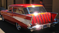 1957 Chevrolet Nomad Wagon 350/355 HP, 4-Speed presented as lot S207 at Anaheim, CA 2012 - thumbail image5