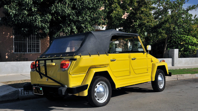 1974 Volkswagen Thing presented as lot S222 at Anaheim, CA 2012 - image2