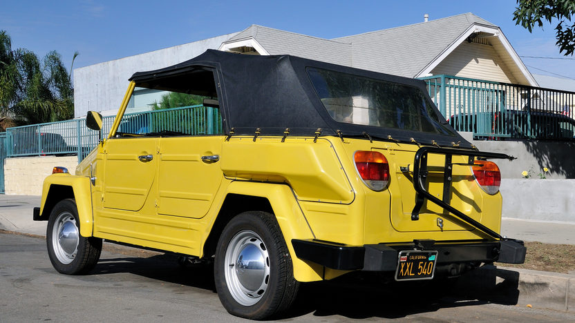 1974 Volkswagen Thing presented as lot S222 at Anaheim, CA 2012 - image3