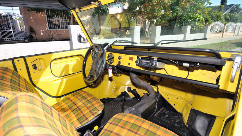 1974 Volkswagen Thing presented as lot S222 at Anaheim, CA 2012 - image5
