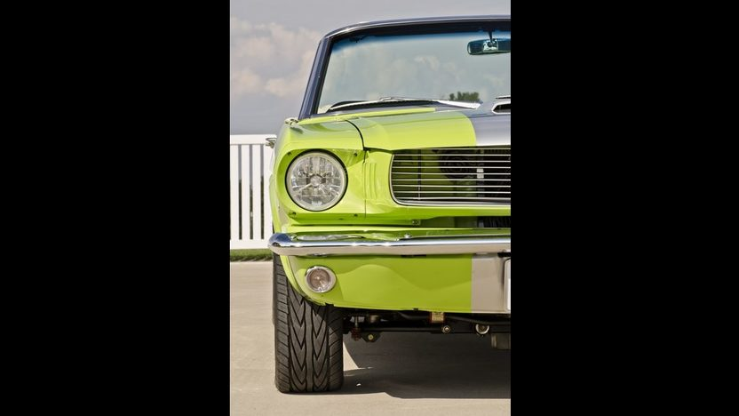 1965 Ford Mustang Resto Mod 390 CI, Extensive Makeover presented as lot S103 at Anaheim, CA 2012 - image9