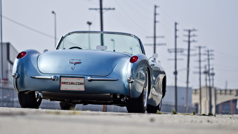 1957 Chevrolet Corvette Convertible 6.2/480 HP, 6-Speed presented as lot S162 at Anaheim, CA 2012 - image8