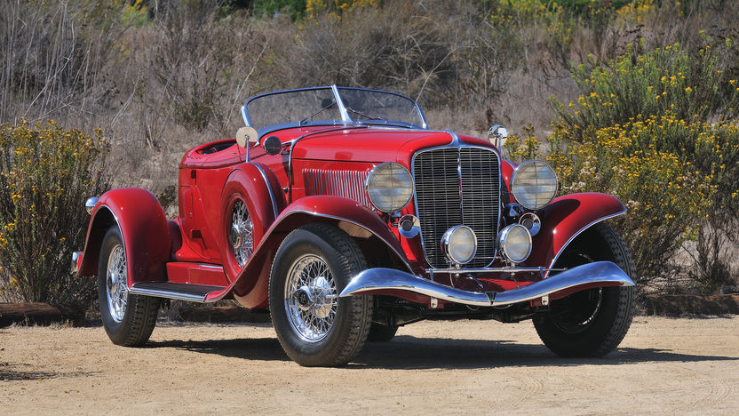 1933 Auburn Salon Twelve Boattail Speedster