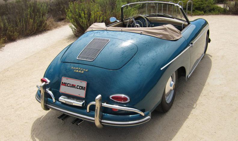 1959 Porsche Convertible D presented as lot S135.1 at Anaheim, CA 2012 - image2