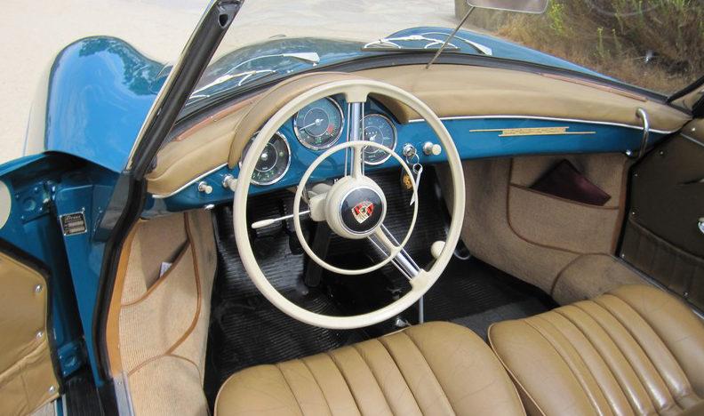 1959 Porsche Convertible D presented as lot S135.1 at Anaheim, CA 2012 - image3