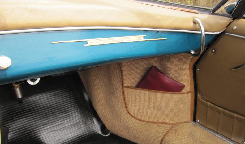 1959 Porsche Convertible D presented as lot S135.1 at Anaheim, CA 2012 - image5