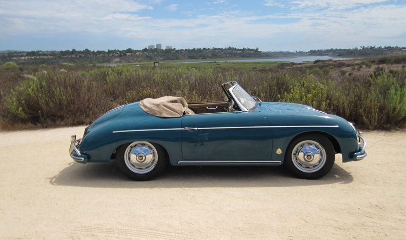 1959 Porsche Convertible D presented as lot S135.1 at Anaheim, CA 2012 - image7