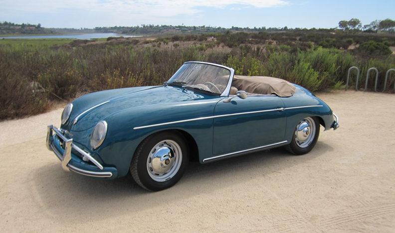 1959 Porsche Convertible D presented as lot S135.1 at Anaheim, CA 2012 - image8