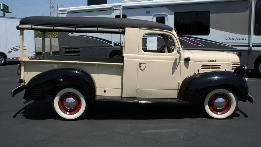 1947 Dodge Depot Hack Pickup presented as lot S115 at Anaheim, CA 2012 - image2