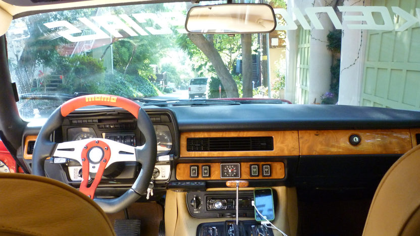 1982 Jaguar XJS Koenig Specials 5.3/300 HP, Automatic presented as lot S91.1 at Anaheim, CA 2012 - image3
