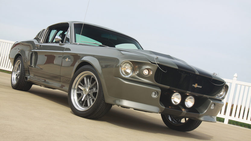 1968 Ford Mustang Eleanor Replica 351/400 HP, 5-Speed presented as lot S126.1 at Anaheim, CA 2012 - image9