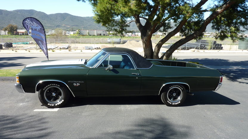 1971 Chevrolet El Camino SS 454 CI, Automatic presented as lot T114 at Anaheim, CA 2013 - image2