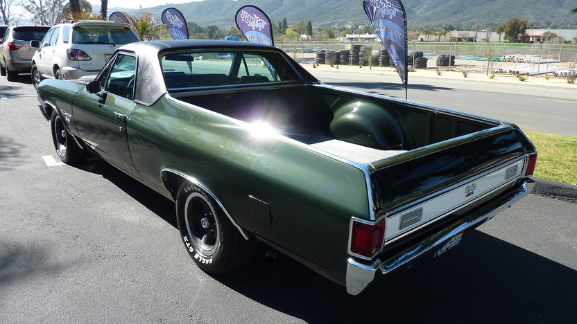 1971 Chevrolet El Camino SS 454 CI, Automatic presented as lot T114 at Anaheim, CA 2013 - image3