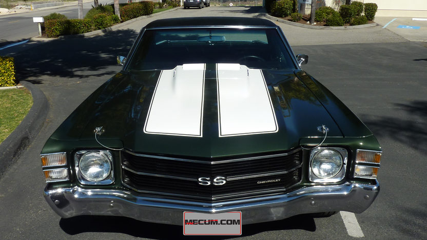 1971 Chevrolet El Camino SS 454 CI, Automatic presented as lot T114 at Anaheim, CA 2013 - image7