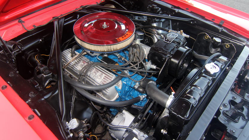 1966 Ford Mustang GT Convertible 289/225 HP, Automatic presented as lot T117 at Anaheim, CA 2013 - image5