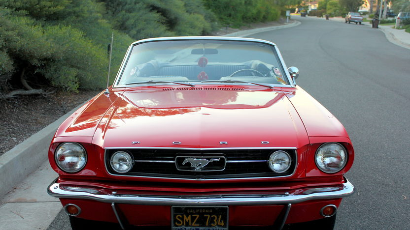 1966 Ford Mustang GT Convertible 289/225 HP, Automatic presented as lot T117 at Anaheim, CA 2013 - image7
