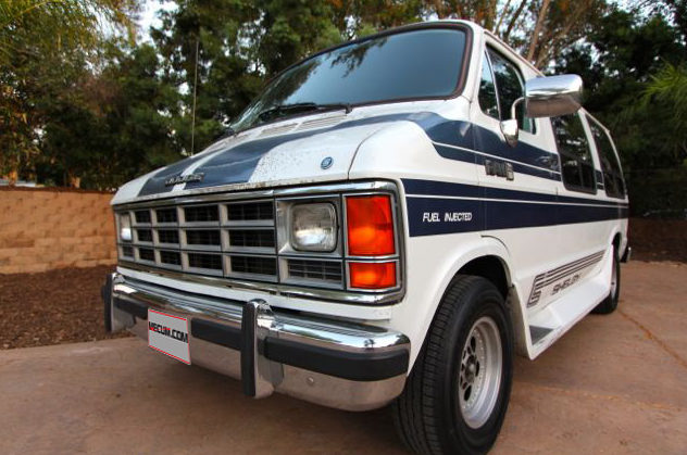 1989 Dodge Shelby Ram Van presented as lot F229 at Anaheim, CA 2013 - image10