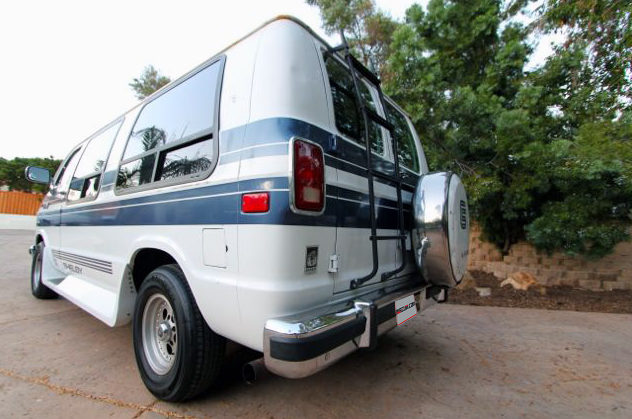 1989 Dodge Shelby Ram Van presented as lot F229 at Anaheim, CA 2013 - image3