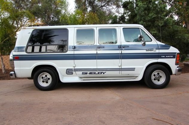 1989 Dodge Shelby Ram Van presented as lot F229 at Anaheim, CA 2013 - image9