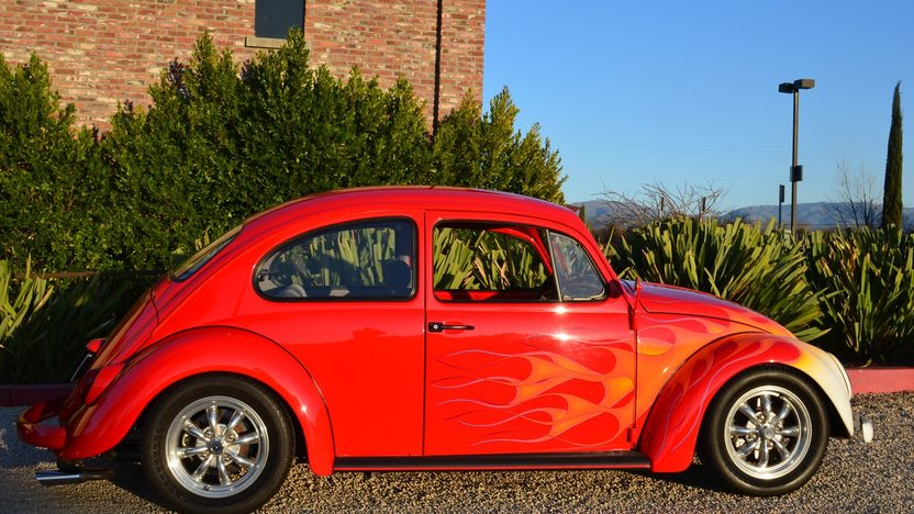 1966 Volkswagen Beetle 2180 CC, 4-Speed presented as lot T151 at Anaheim, CA 2013 - image2