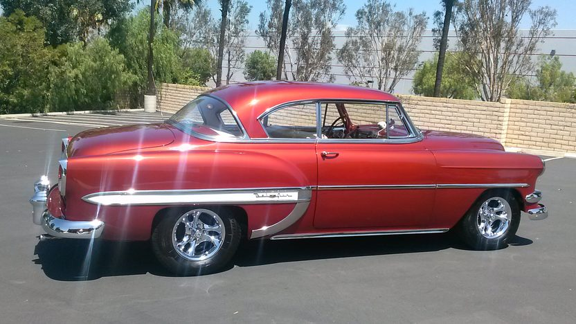 1954 Chevrolet Bel Air Hardtop presented as lot T163 at Anaheim, CA 2013 - image2