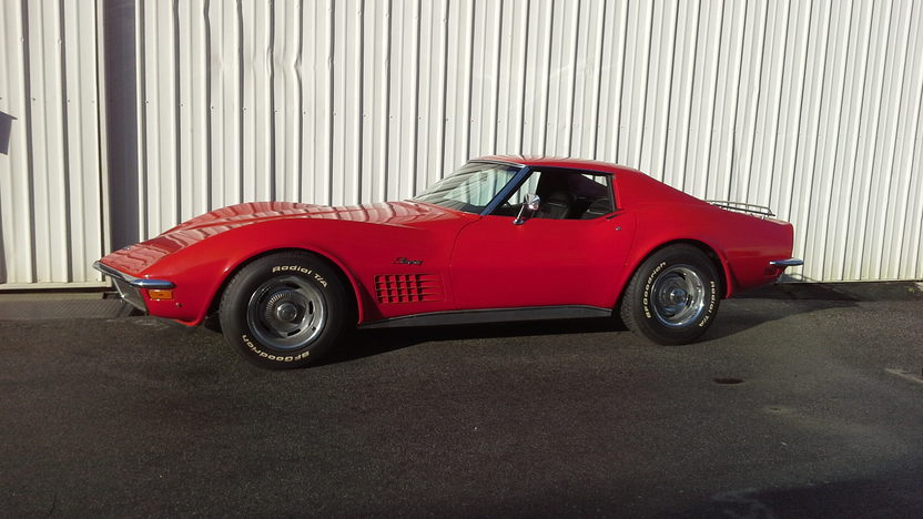 1971 Chevrolet Corvette Coupe 350/270 HP, Automatic presented as lot F63 at Anaheim, CA 2013 - image2