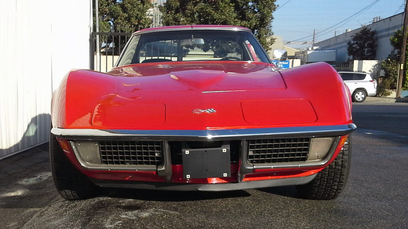 1971 Chevrolet Corvette Coupe 350/270 HP, Automatic presented as lot F63 at Anaheim, CA 2013 - image7