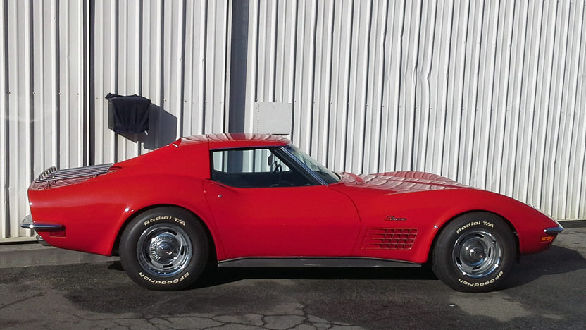 1971 Chevrolet Corvette Coupe 350/270 HP, Automatic presented as lot F63 at Anaheim, CA 2013 - image8
