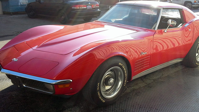 1971 Chevrolet Corvette Coupe 350/270 HP, Automatic presented as lot F63 at Anaheim, CA 2013 - image9