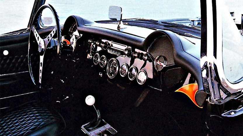 1957 Chevrolet Corvette Gasser 427/450 HP, 4-Speed presented as lot F85 at Anaheim, CA 2013 - image2