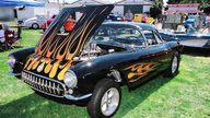 1957 Chevrolet Corvette Gasser 427/450 HP, 4-Speed presented as lot F85 at Anaheim, CA 2013 - thumbail image5