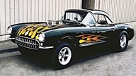 1957 Chevrolet Corvette Gasser 427/450 HP, 4-Speed presented as lot F85 at Anaheim, CA 2013 - thumbail image8