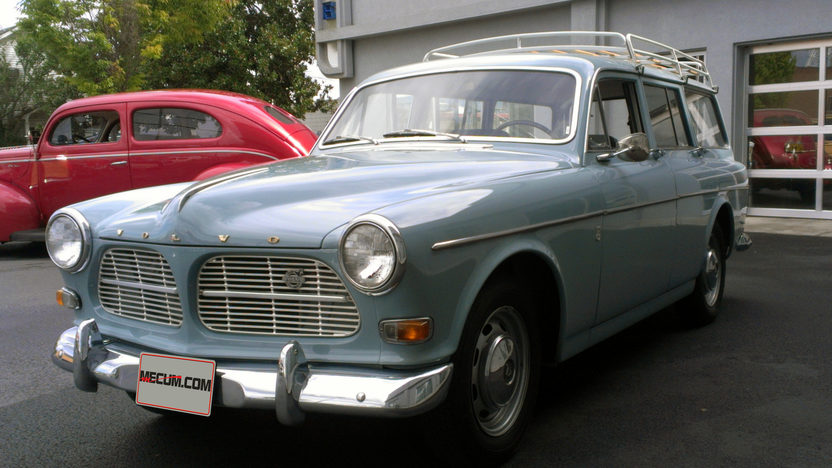 1966 Volvo 122S Wagon 2000 CC, 4-Speed presented as lot F86 at Anaheim, CA 2013 - image8