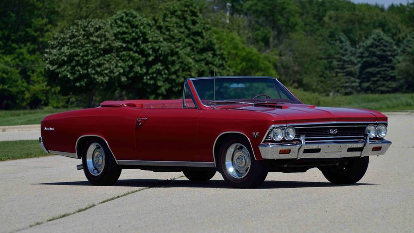 1966 Chevrolet Chevelle SS Convertible 396/360 HP, 4-Speed presented as lot F164 at Anaheim, CA 2013 - image12