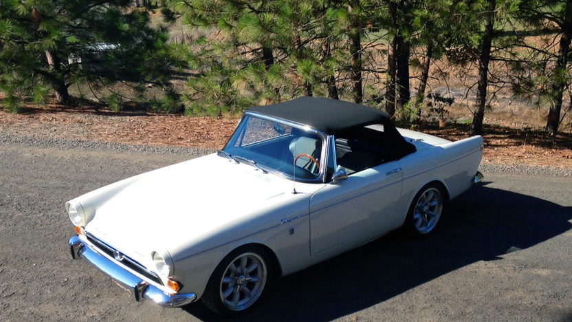 1967 Sunbeam Alpine Tiger Resto Mod 289 CI, Automatic presented as lot F170 at Anaheim, CA 2013 - image7