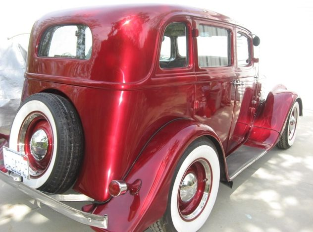 1933 Willys Model 77 Hot Rod 231 CI, Automatic presented as lot F209 at Anaheim, CA 2013 - image3