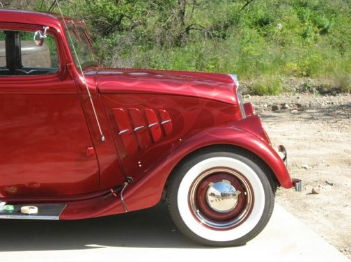 1933 Willys Model 77 Hot Rod 231 CI, Automatic presented as lot F209 at Anaheim, CA 2013 - image4