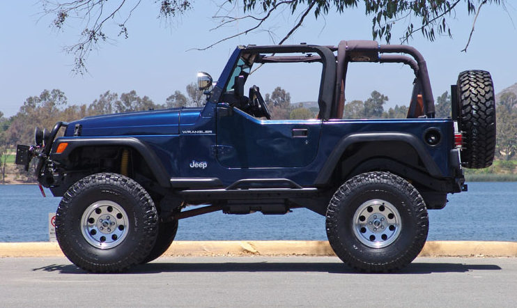 2002 Jeep Wrangler presented as lot S42 at Anaheim, CA 2013 - image2