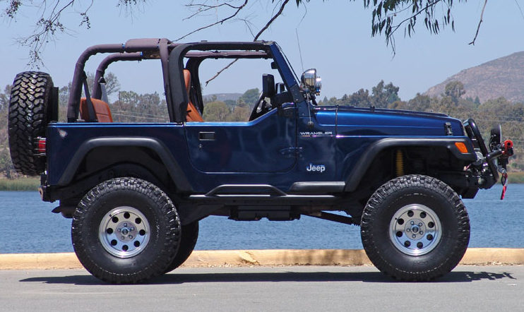 2002 Jeep Wrangler presented as lot S42 at Anaheim, CA 2013 - image8