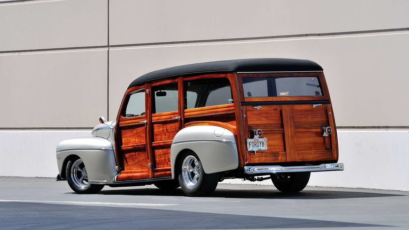 1948 Ford Woody Resto Mod 350 CI, Steel Body presented as lot S94 at Anaheim, CA 2013 - image3