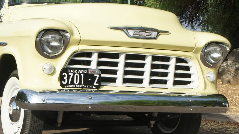 1955 Chevrolet 3100 Pickup CCI Gold Certificate presented as lot S100 at Anaheim, CA 2013 - image11
