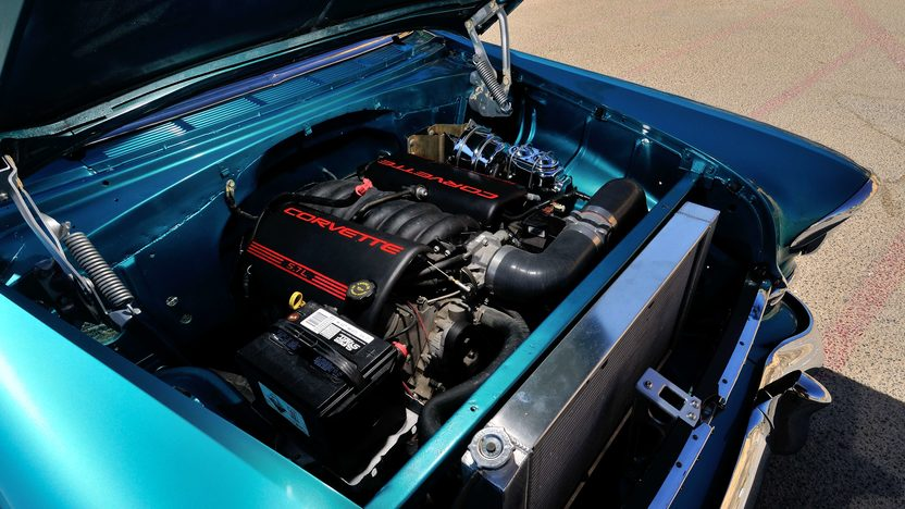 1955 Chevrolet Nomad Resto Mod LS1, Automatic presented as lot S105 at Anaheim, CA 2013 - image6
