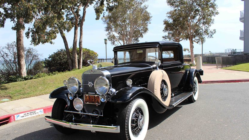 1931 Cadillac Series 370A V-12 Rumble Seat Sport Coupe 2013 CCCA Senior First Place presented as lot S106 at Anaheim, CA 2013 - image12