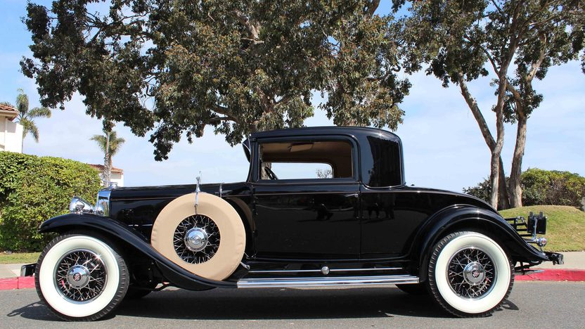 1931 Cadillac Series 370A V-12 Rumble Seat Sport Coupe 2013 CCCA Senior First Place presented as lot S106 at Anaheim, CA 2013 - image2